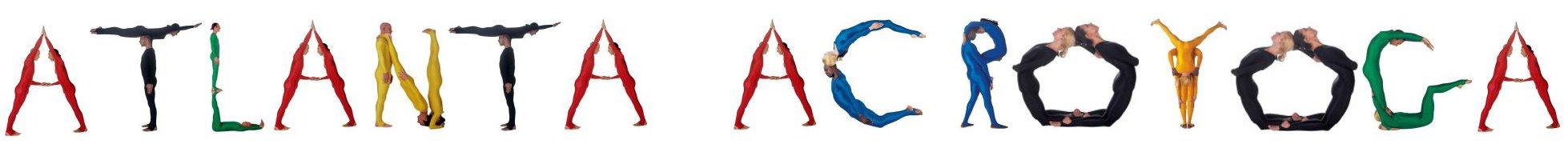 Atlanta Acroyoga colorful logo