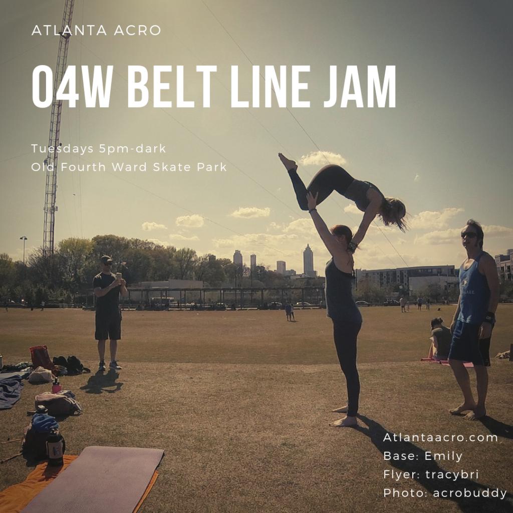 O4W Beltline Jam @ Fourth Ward Skate Park, Tues nights
